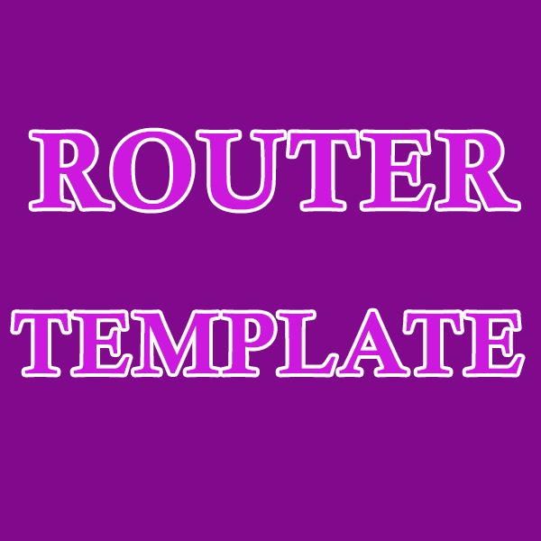 Router-Template