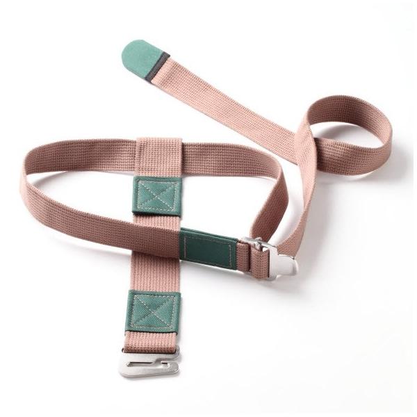 yoga wall lumbar traction belt
